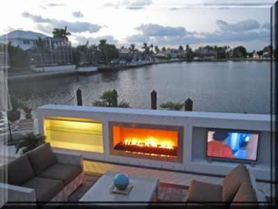 propane outdoor fireplace